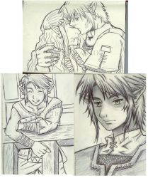 rough sketches part 1 by Rinkuchan27