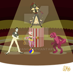 Welcome to the Circus! PNG by AK-Manga
