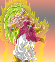 Broly LSSJ3 by Maniaxoi