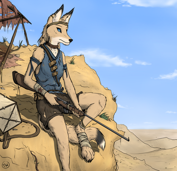 Wasteland by TitusW