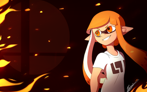 Welsome to Smash, Splatoon by LuckyCessy