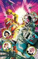 Bill and Ted's Most Triumphant Return # 6 Cover by FelipeSmith