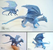 Needle felted Pernese dragon by Azany