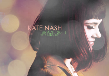 Kate Nash Brazil by AlbionSailor