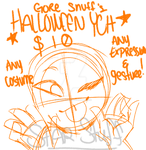 OCTOBER SPECIAL - Icon YCH by Star--Stuff