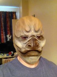 My first attempt at a mask. by Daryl-Muncaster