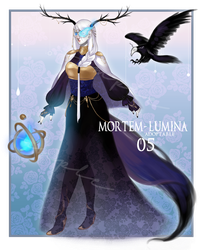 [Closed] Mortem-Lumina #05 Adopt Auction by DiWine-Waro