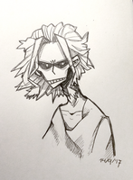All Might by Marauwe