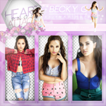Pack PNG de Becky G by iLightWonderful