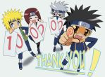 Thanks from the club 100000 by kakashi-gaiden-club