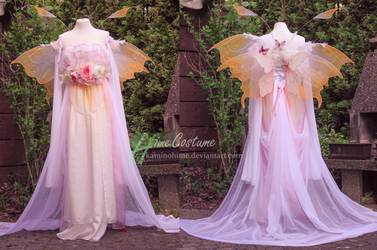 Spring Faerie Dress by kaminohime