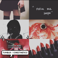 Yandere Aesthetic Adoptable Auction 3 [CLOSED] by Blithe-Adopts