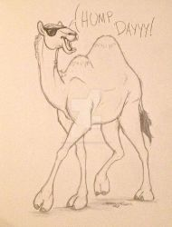 A Camel on a Wednesday by TheAbbeyRoadie