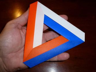 Penrose Triangle by neubauten