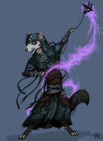 The Warlock - ARMELLO by Wolfdog-ArtCorner