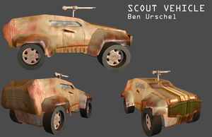 Red faction scout by wolf117M