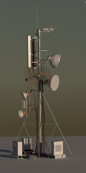 Communications Tower by tsfhaines