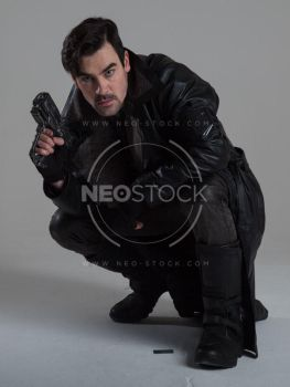 Danny Cyberpunk Detective 153 - Stock Photography by NeoStockz
