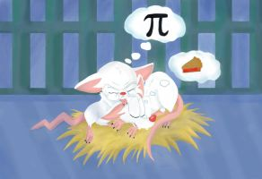 Pinky and the Brain What is Pi? by Candyfloss-Unicorn