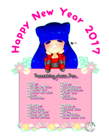 Chibi Tag and Happy New Year by cENtRosEMa