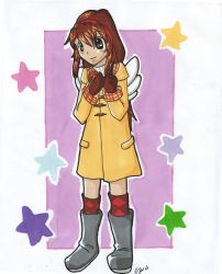 Request: Fuko cosplaying Ayu by Ultipoter