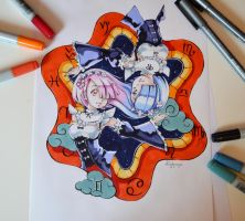 Gemini - Rem and Ram by Lighane