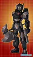 Hunter, OMC Autobot by fanfictionaxis