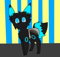 Nightspeare Freeze ColdWind the Shiny Umbreon by LuxrayBlast