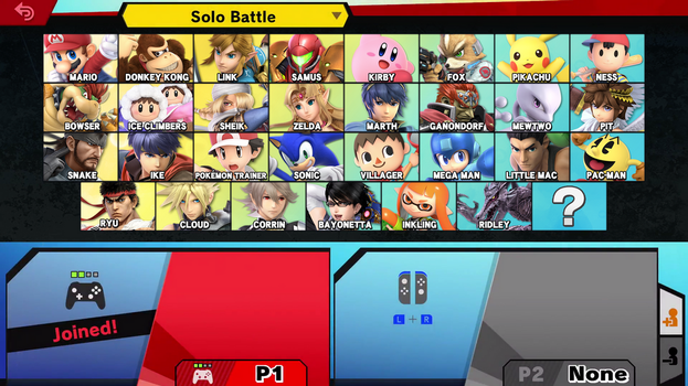 Super Smash Bros. Ultimate E3 CSS by Leafpenguins