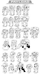 PAYLOAD: Build-A-Mech Special Commission by Blazbaros