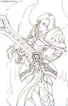 Kayle Line by FalseDelusion