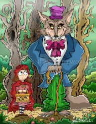 Red Riding Hood and Wolf - Ryan R. Nitsch by RyanNitsch