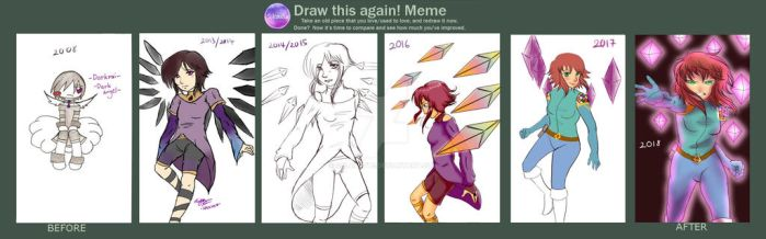 Redraw Before And After 2018 by solcastle