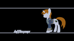 Littlepip Wallpaper by Alexstrazse