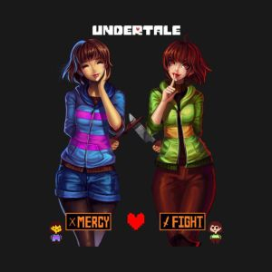 Chara and Frisk x Male Reader part 2 by pktrainerRed on DeviantArt