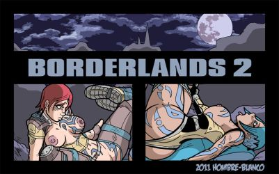 Borderlands - Lilith Versus Maya Preview by hombre-blanco