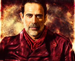 The Walking Dead - Negan by p1xer