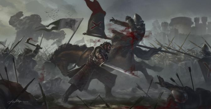 Battle of the Bastards by Drawslave
