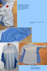 Upcycled Nightshirt - tutorial pt2 by MoonyMina
