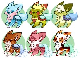 :FoxPonds Adoptables(closed): by PrePAWSterous