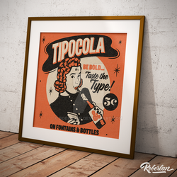 Tipocola poster by roberlan