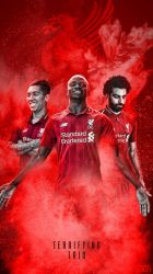 Liverpool Phone Wallpaper 2018/2019 by GraphicSamHD