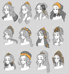 Princess concepts by Looji