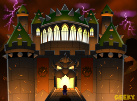 Bowser's Final castle by GeekytheMariotaku