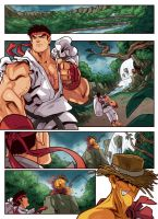 Street Fighter Unlimited Issue 5 - Preview 1 by edwinhuang