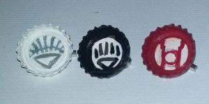 White Black Red Lantern Pins by wolf-girl87