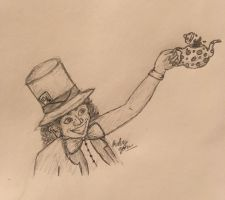 Day 28: The Mad Hatter by erbyderby24