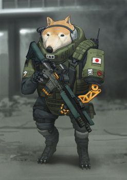 TACTICAL INU by Agavoides