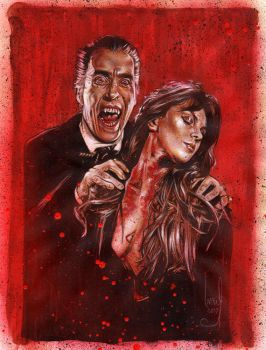 Hammer Horror Dracula by JeffLafferty