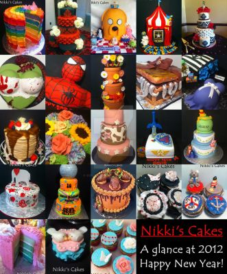 A glance at 2012 cakes by Corpse-Queen